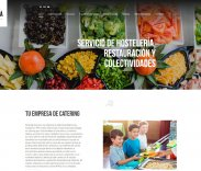 New website of Catering Alcalá
